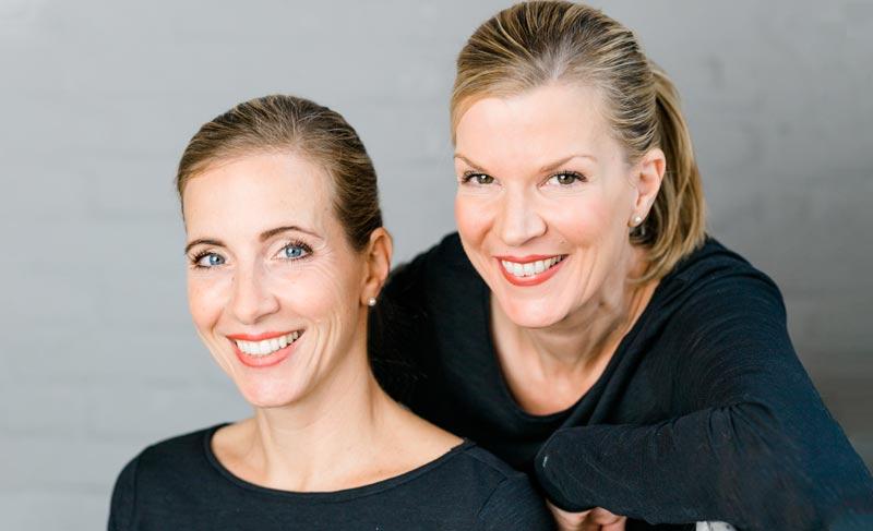 Teamfoto Lena Sonnenschein und Nicole Schäfer